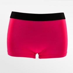 Bamboo boxer shorts / hipster pink black in the sizes S, M, L, and XL | Ollies Fashion