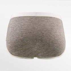 Bambus damen slip / brief retro unterwäsche grau weiß | Ollies Fashion