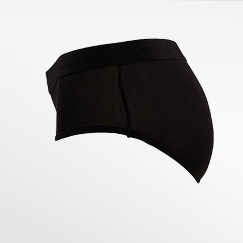 Kurze unterwäsche bambus schwarz S, M, L und XL Ollies Fashion