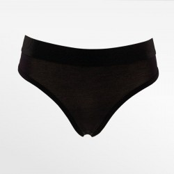 Thong bamboe black S, M, L and XL | Ollies Fashion