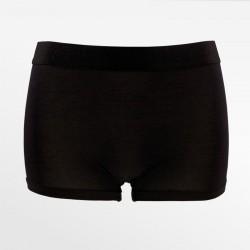 Boxershorts aus bambus / hipster schwarz, ideal für frauen im ubergang | Ollies Mode