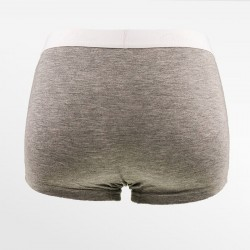 Bamboo boxer short / hipster gray Ollies Fashion