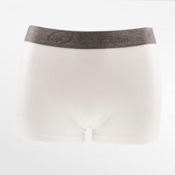 Bamboe boxershort / hipster wit | Ollies Fashion