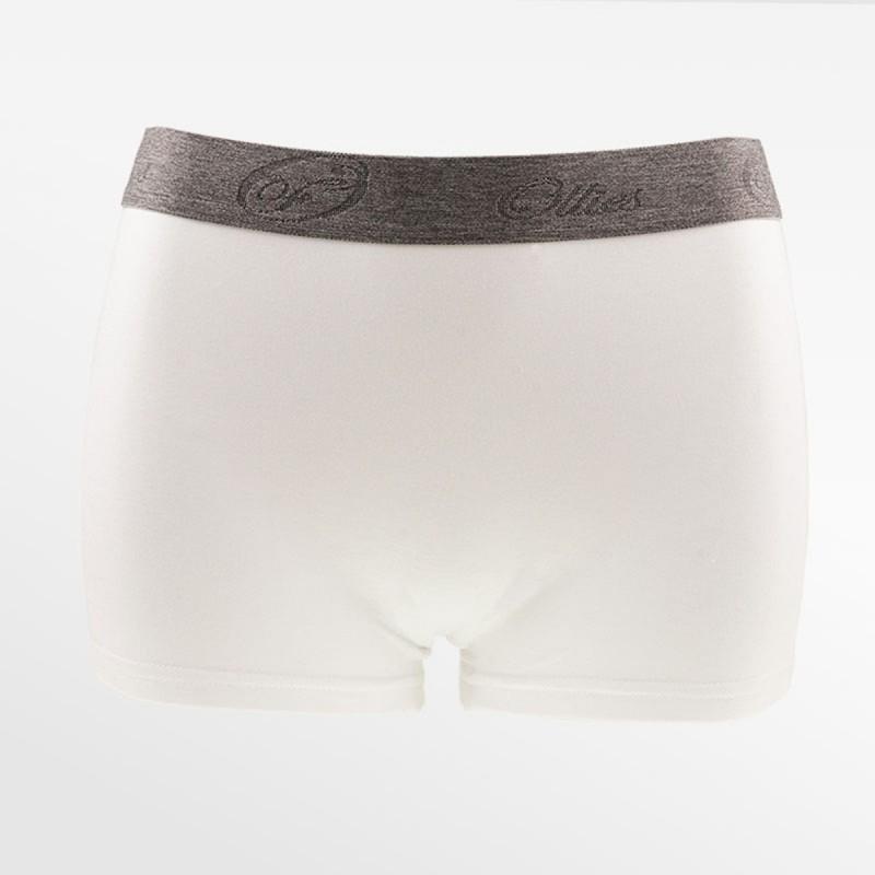 Bamboo boxershort / hipster white | Ollies Fashion