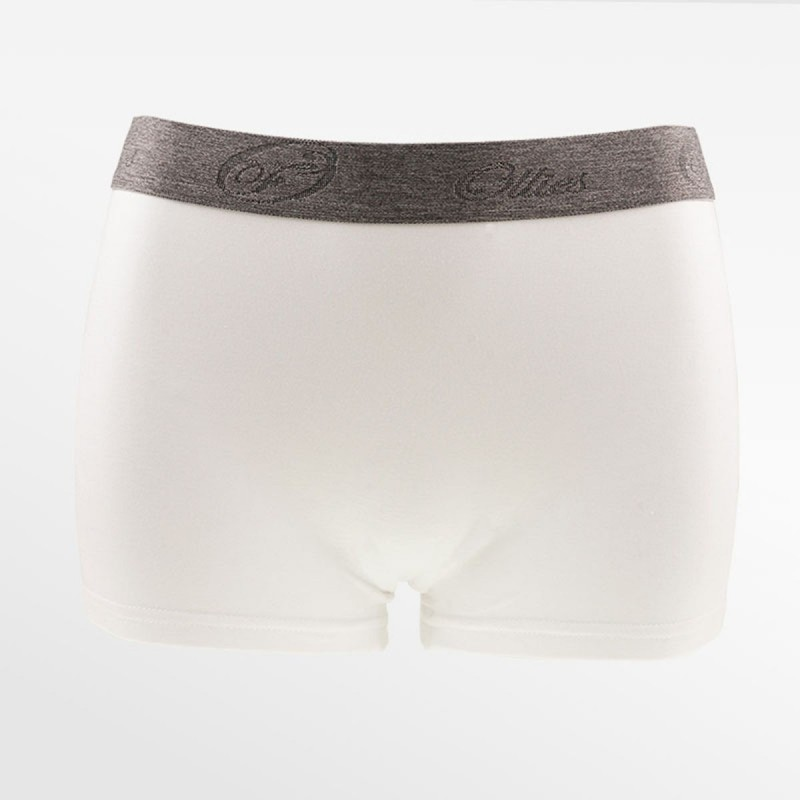 Bambus Boxer / hipster weiss | Ollies Fashion