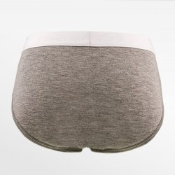 Lettre mesdames sous-vêtements bambou gris blanc | Ollies Fashion.
