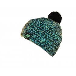 Beanie mixed black green By MP