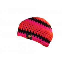 Beanie orange pink black By MP