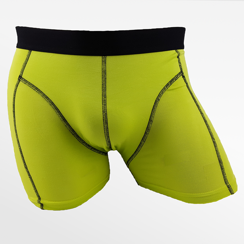 Boxer shorts bambou vert randonnée ou sous-vêtements de randonnée   Ollies Fashion