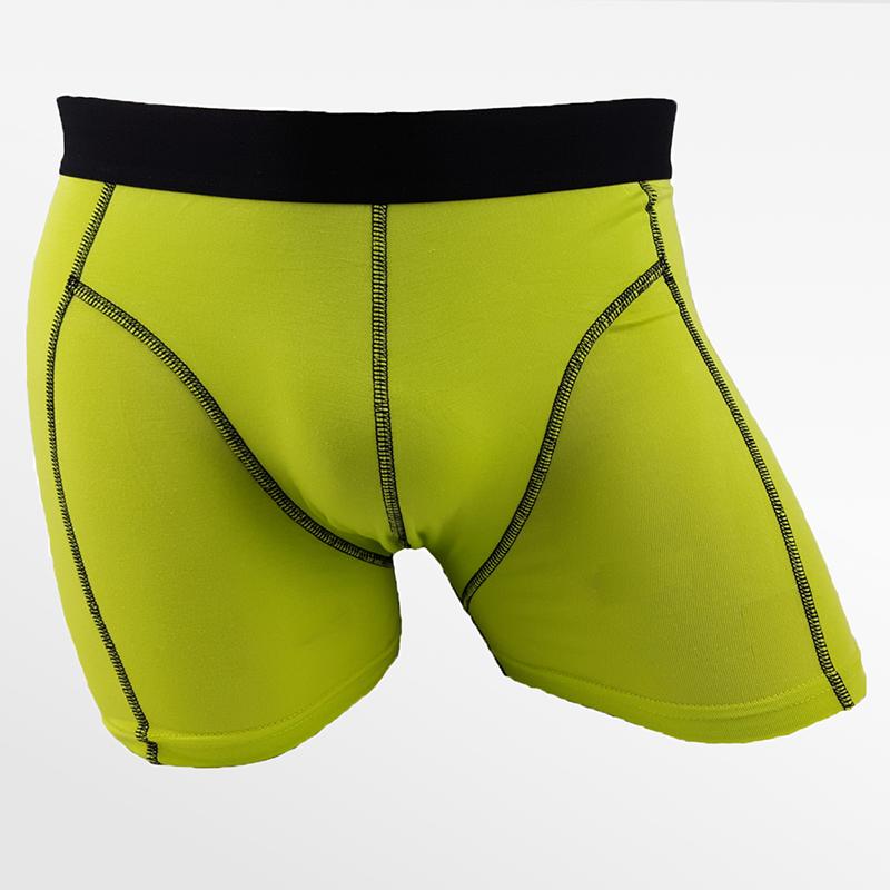 Boxer shorts bambou vert randonnée ou sous-vêtements de randonnée | Ollies Fashion