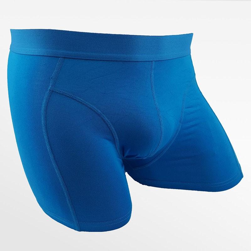 Boxer shorts sous-vêtements bambou bleu | Ollies Fashion