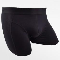 Bamboo men's fitness underwear bamboo black   Ollies Fashion
