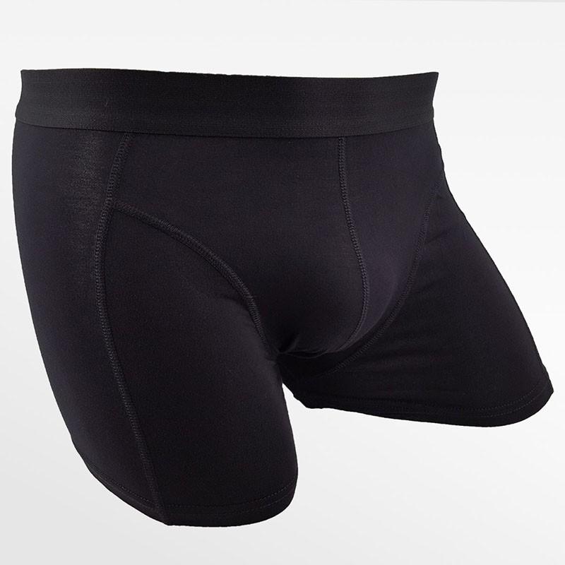 Bamboo men's fitness underwear bamboo black | Ollies Fashion