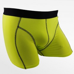 Bamboo boxer shorts ideal for cycling green 2 pack | Ollies Fashion