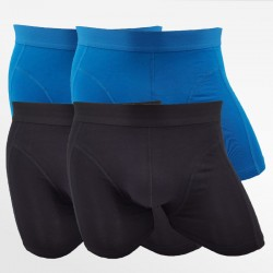 Bamboo underwear men blue and black 4 pack | Ollies Fashion