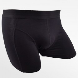 Boxer shorts men's bamboo anthracite and black 2 pack | Ollies Fashion