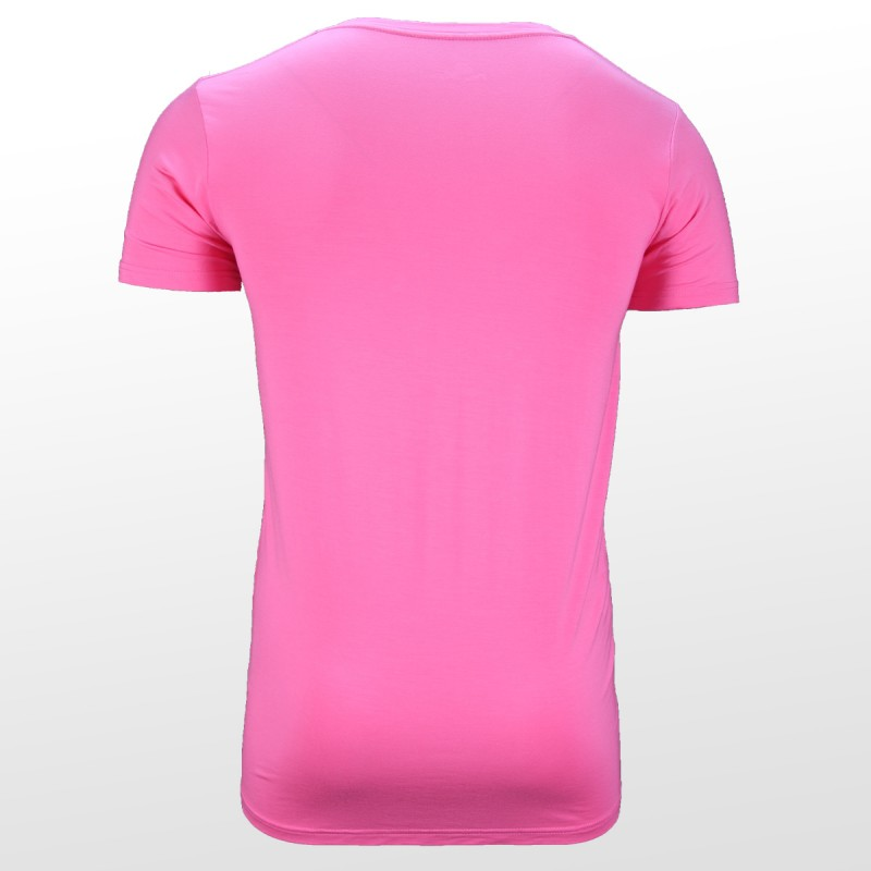 Bamboe T-shirt Pink back| Ollies Fashion