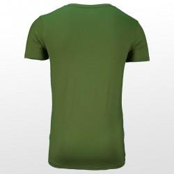 Bambus T-Shirts Grün hinterrseite | Ollies Fashion