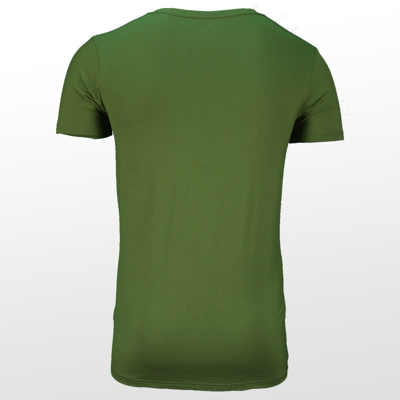 Bamboe T-shirt Green back| Ollies Fashion
