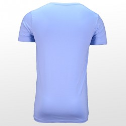 Bambus T-Shirts Blau hinterrseite | Ollies Fashion