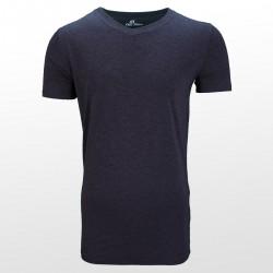Bambus T-Shirts Anthrazit vorderseite | Ollies Fashion