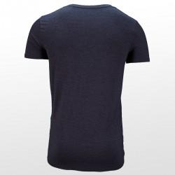 Bamboe T-shirt Antraciet achterzijde| Ollies Fashion