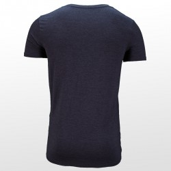 T-shirt en bambou Anthracite dos | Ollies Fashion
