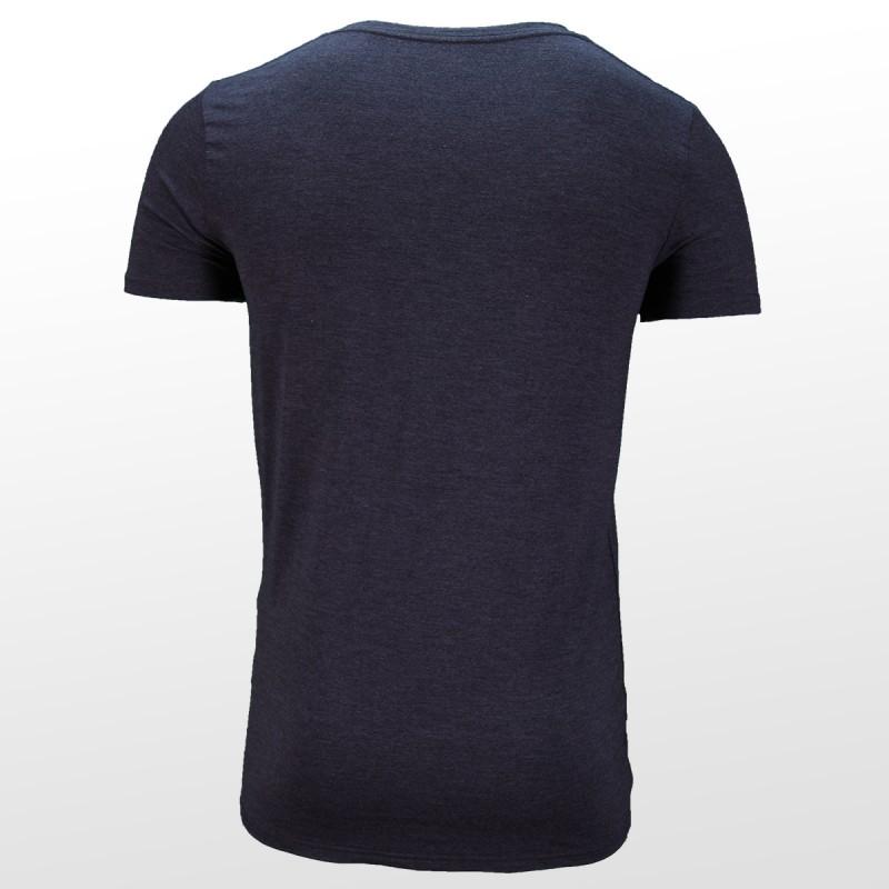 Bambus T-Shirts Anthrazit hinterrseite | Ollies Fashion