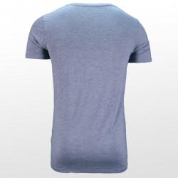 Bamboe T-shirt Grey back| Ollies Fashion