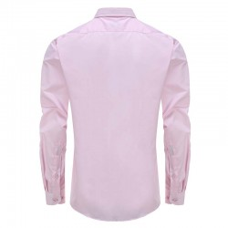 Overhemd heren roze loose fit Ollies Fashion