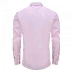 Shirt männer rosa locker geschnitten Ollies Fashion