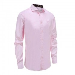 Shirt men's pink cut away colar Ollies Fashion