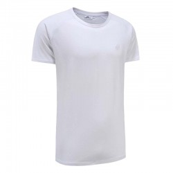 Tshirt men white basic Ollies Fashion