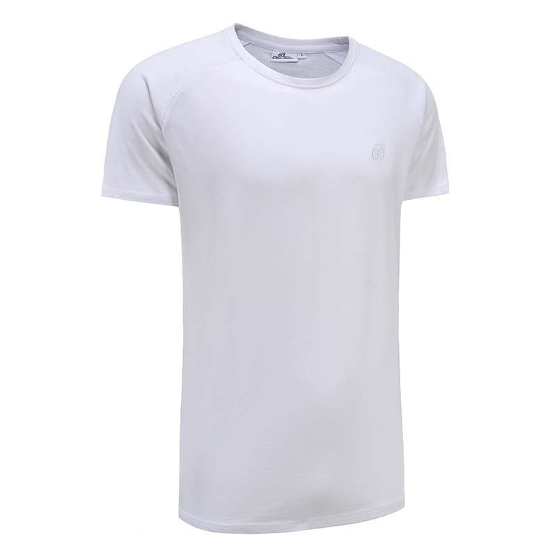 Tshirt mann männer weiß basic Ollies Fashion