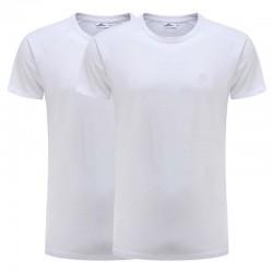 Tshirt reglan wit set van 2 Ollies Fashion