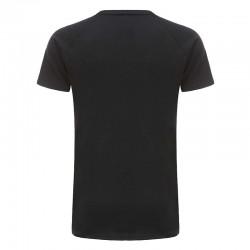 Tshirt zwart basic 220 grams katoen Ollies Fashion