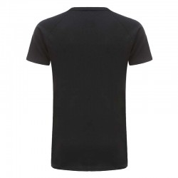 Tshirt black basic 220 grams cotton Ollies Fashion