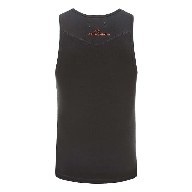 Tank top men's gits black, fanta black Ollies Fashion