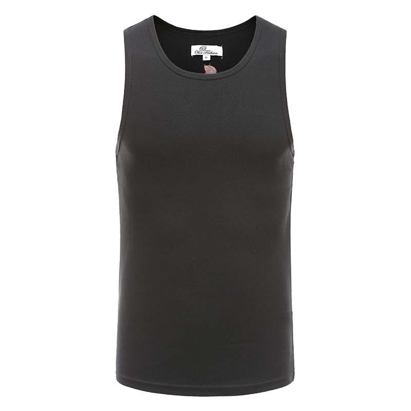 Tank top mens black singlet Ollies Fashion