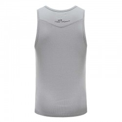 Tank top hemd grijs heren met borduring Ollies Fashion