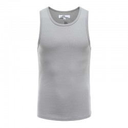 Tank top Männer grau Singulett Ollies Fashion