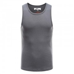 Tank top singlet heren antraciet Ollies Fashion