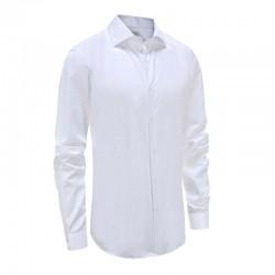 Shirt men white gala, smoking