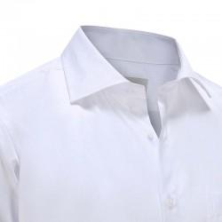 Chemise en gala blanc Ollies Fashion