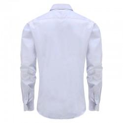 Bambus Shirt der weißen Männer Schneider fit