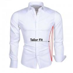 Shirt ajustement sur mesure pour hommes