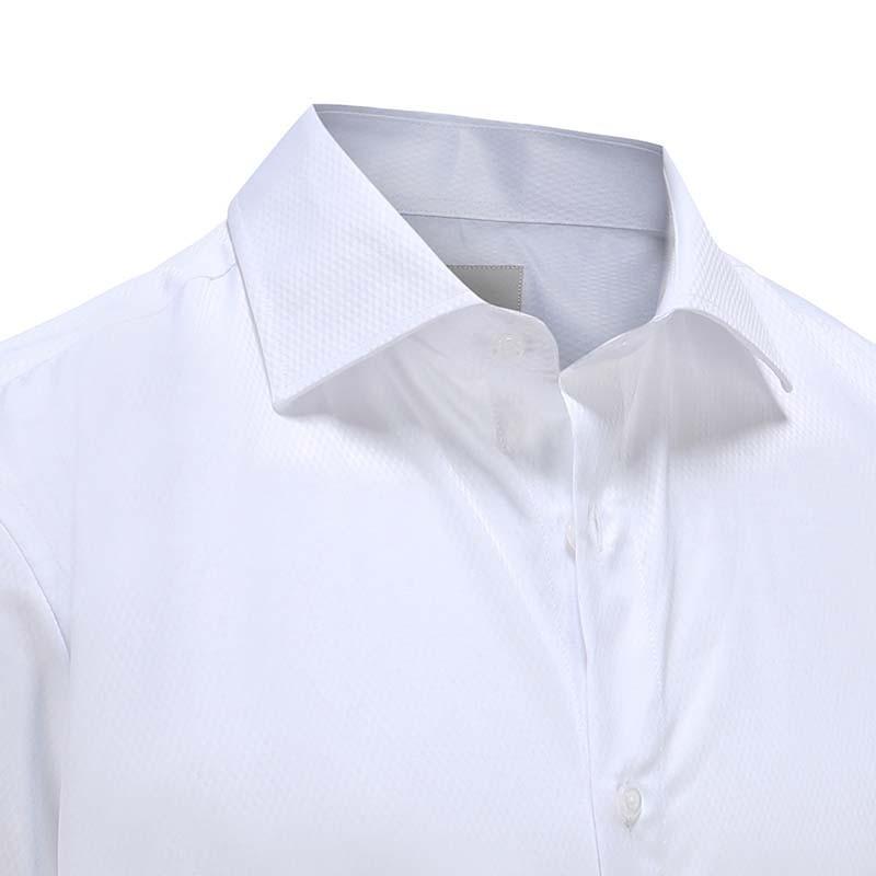 gala / chemise de smoking avec soulagement