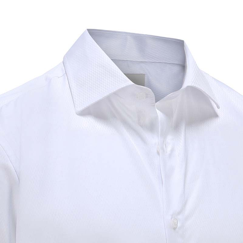 Gala / tuxedo shirt with relief