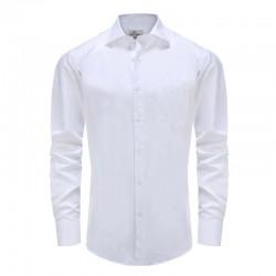 Männer Shirt Gala / Smoking Popeline, Winkel geschnittener Kragen Ollies Mode