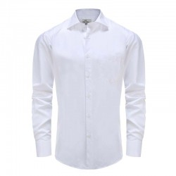 Men shirt gala / tuxedo poplin, angle cut collar Ollies Fashion